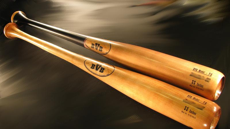 Custom Wood Bats by: Bear Valley Bats-Genuine Pro Quality (Canadian Yellow Birch